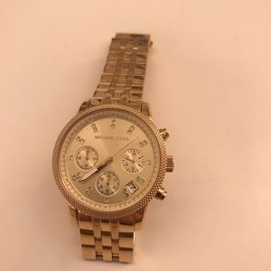 Michael Kors Gold Watch - Women's